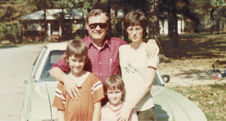 Carnes family young